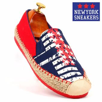 New York Sneakers Erin Slip On Shoes(BLUE)