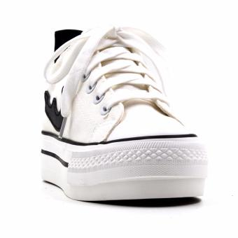 New York Sneakers Fay Low Cut Shoes(BLACK/WHITE)