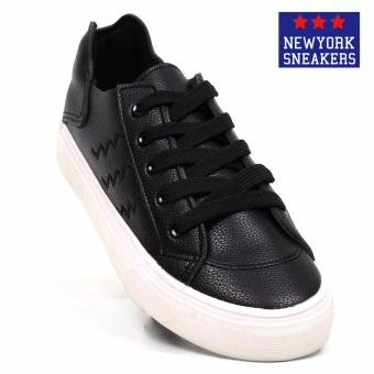New York Sneakers Feiro Low Cut Shoes(BLACK)
