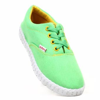 New York Sneakers Haniela Shoes (GREEN/YELLOW)