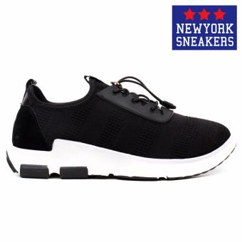 New York Sneakers Holly Rubber Shoes - K01(BLACK) - 2