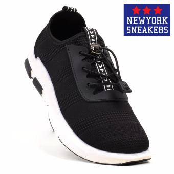 New York Sneakers Holly Rubber Shoes - K01(BLACK)