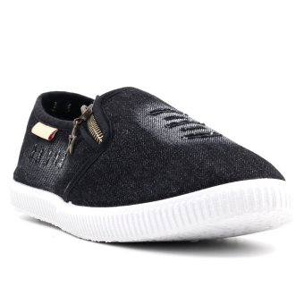 New York Sneakers Jean M (Black)
