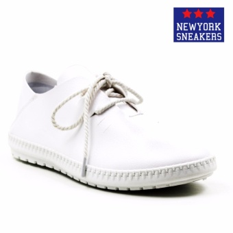 New York Sneakers Luis Low Cut Shoes(WHITE)