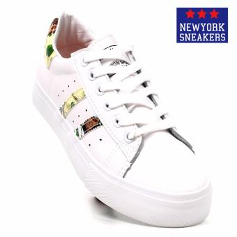 New York Sneakers Mingkuang Low Cut Shoes(WHITE/GREEN)