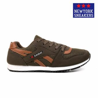 New York Sneakers Nolan Rubber Shoes (Army Green) - 2