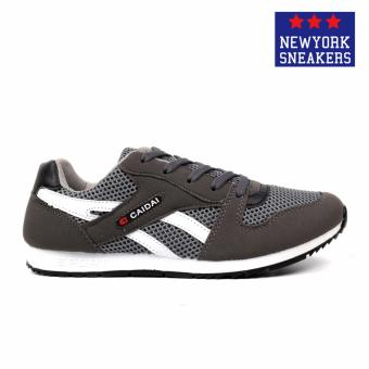 New York Sneakers Nolan Rubber Shoes(Grey/White) - 2