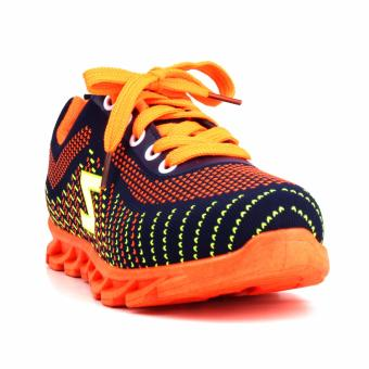 New York Sneakers Savannah Rubber Shoes(NAVY/ORANGE)