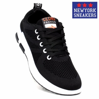 New York Sneakers Tony Rubber Shoes 6055(BLACK)