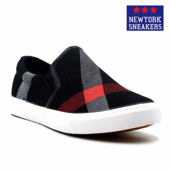 New York Sneakers Tyler Slip On Shoes(BLACK)