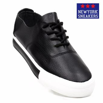 New York Sneakers Xinben Low Cut Shoes(BLACK)