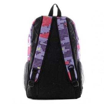 Newyork Army Cool Pixie Backpack (Purple) - 4