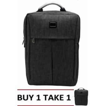 Nick Co 1662 Backpack (Grey) BUY1TAKE1 Price Philippines
