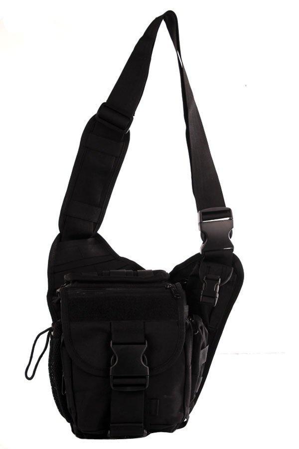 NICK Mens Boys 222 Plain Military Messenger Bag (Black) | Lazada PH