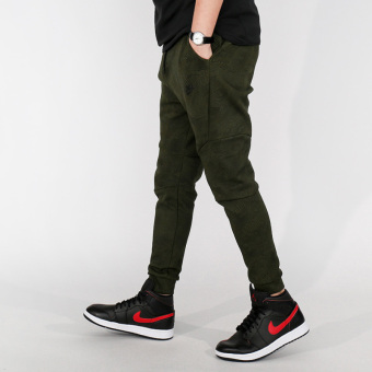 Nike knit skinny running warm pants trousers (836417-387)