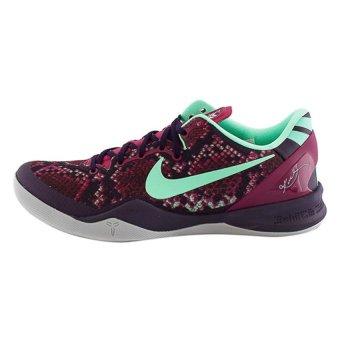 cheap for discount a7ab3 643d5 ... blå kvinner hvit sko affär på nett  nike kobe 8 system basketball  shoes(purple dynasty green glow raspberry red)