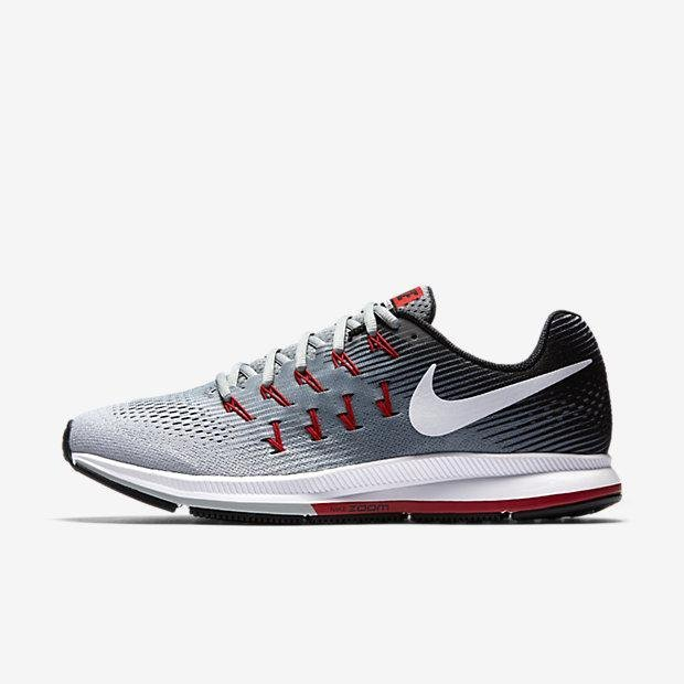 NIKE MEN AIR ZOOM PEGASUS 33 RUNNING SHOE DARK GREY 831352-009US7-11 02' - intl Price Philippines