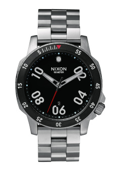 Nixon Ranger Men's Silver Stainless Steel Strap Watch A506-000