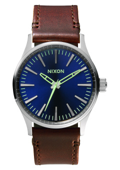 Nixon Sentry 38 Men's Brown Leather Strap Watch A377-1524 Price Philippines