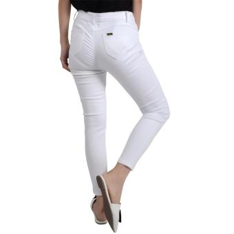No Apologies Colored Long Jeans Nbb05-069 (Off White) - 3