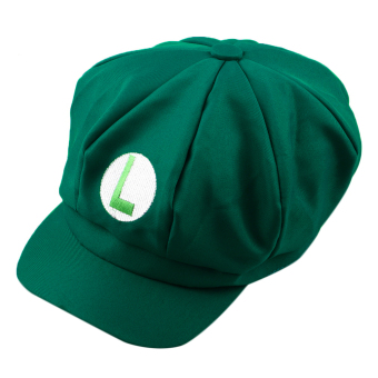OH Chic Luigi Super Mario Bros Cosplay Adult Size Hat Cap Baseball Costume New Green L Price Philippines