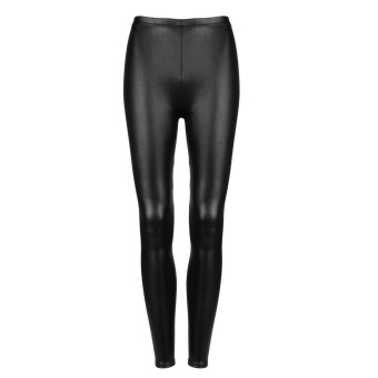 OH Sexy Women Faux PU Leather Leggings Skinny Pencil Pants Tights Trousers