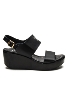 Ohrelle Annelle Wedge Sandals (Black) - picture 2