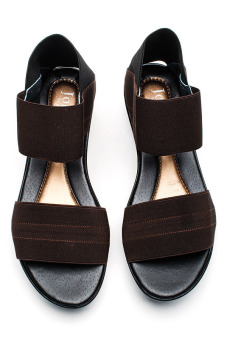 Ohrelle Cecille Wedge (Brown) - picture 2