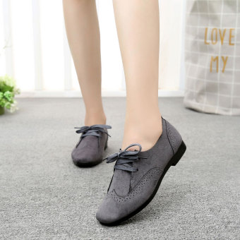 Old Beijing female spring New style shoes Shoes (Gray)