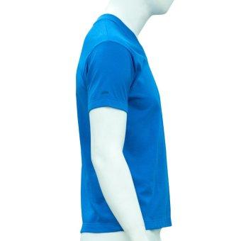 Omni By SO-EN Men's V-Neck T-Shirt (Royal Blue) - 3