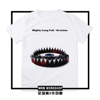 One OK rock oor Seiwa rock band Taka sen nei gui kuan ambitions day tour T-shirt short sleeved (Mighty long fall/Decision)