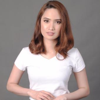 Organic V-Neck Ladies (White) Price Philippines