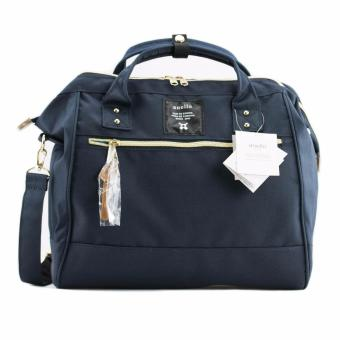 Original Anello Polyester Boston Bag AT-H0852 (Navy)
