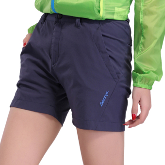 Outdoor female short stretch hiking pants quick-drying shorts
