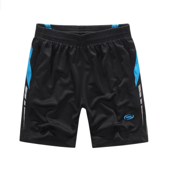Outdoor Running Badminton Sport Fast Dry Men's Shorts Pants(Blue) Price Philippines