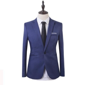 Outlet Business suit two piece suit blue - intl - 2
