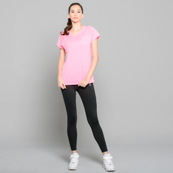 Outperformer Running Cycling Fitness T-Shirt with Extra Stretch andDryperform Technology (Neon Pink)