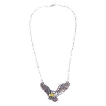 Owl Necklace (Black)