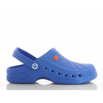 Oxypas SONIC (Blue) Unisex Clogs Shoes for Doctors, Nurses, Medical& Healthcare Professionals, Hospital, Chef, Kitchen, Spa,Laundry, Hotel, Beauty & Wellness Personnel