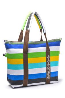 Pagry Annie Beach Tote Bag Green