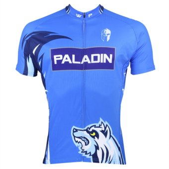 PALADINSPORT Men Cycling Shirt Jersey (Blue) - Intl
