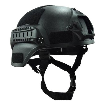 PAlight Outdoor Sports MICH 2000 Helmet Combat Head Protector Paintball Helmets Gear - intl Price Philippines