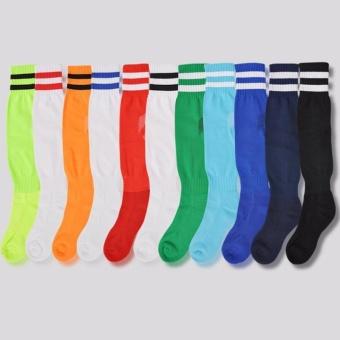 PAlight Sport Football Soccer Socks Above Knee Plain Long Socks (for Adult) - intl - 3