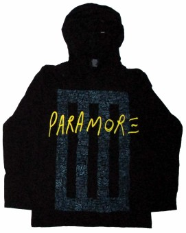 Paramore - Bar Hoodies (black)