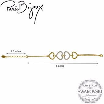 Paris Bijoux FL07671A Bracelet (Gold) - picture 2
