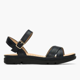 Parisian Ladies Taleah Flat Sandals (Blue)