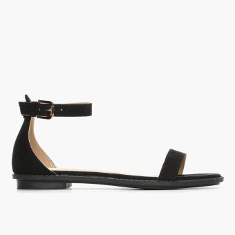 Parisian Ladies Ubra Flat Sandals (Black)