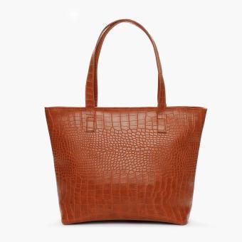 Parisian Ladies Ulana Tote Bag (Tan)