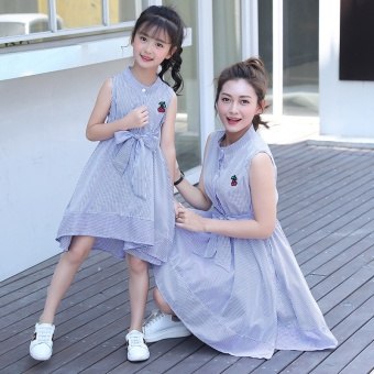 Paternity Skirt Cherry Mother and Daughter(Single) - intl