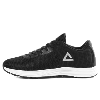 Peak autumn New style reflective running shoes men's shoes (Black)